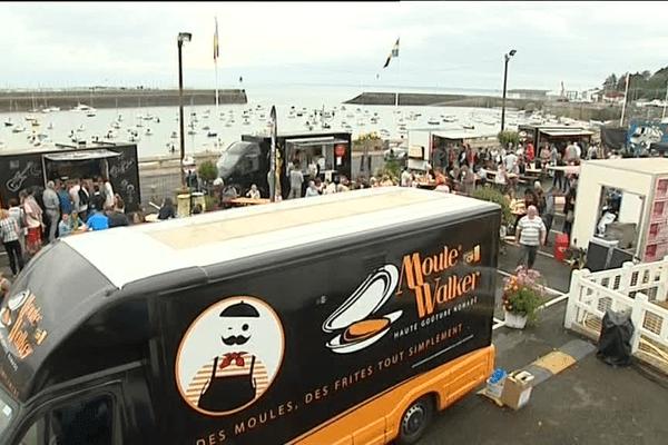 Le premier festival de Food truks breton a eu lieu à St Quay Portrieux