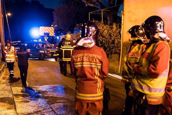 L'explosion s'est produite chemin vicinal des Accates dans le 11ème arrondissement de Marseille.