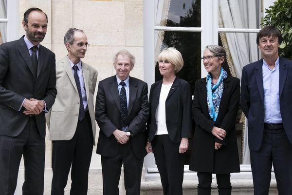 Le premier juin 2017 lors du lancement à Matignon de la mission de médiation relative au projet Notre Dame des Landes