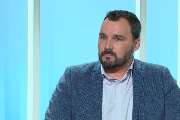 Grégory Hugue est actuellement le Secrétaire régional de Nouvelle Aquitaine du syndicat Alliance Police nationale.