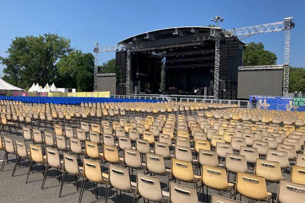 """Brive Festival version 2021 se déroulera en configuration """"assis"""", avec une jauge de 5000 personnes."""