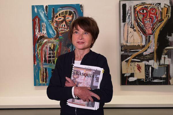 Suzanne Pagé, directrice artistique de la Fondation LVMH et spécialiste du peintre américain Jean-Michel Basquiat
