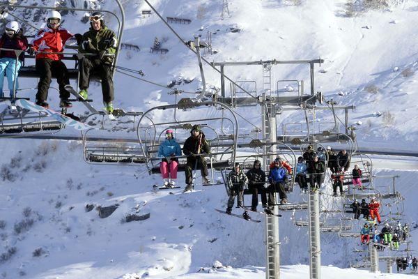 La CGT annonce que des préavis de grève vont être déposés dans toutes les stations des Alpes. Photo d'illustration.