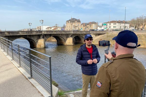 Le tournage a démarré dans sur les bords de la Corrèze
