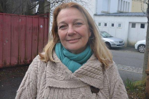 Joelle Bergeron, élue FN en janvier 2014 à Lorient