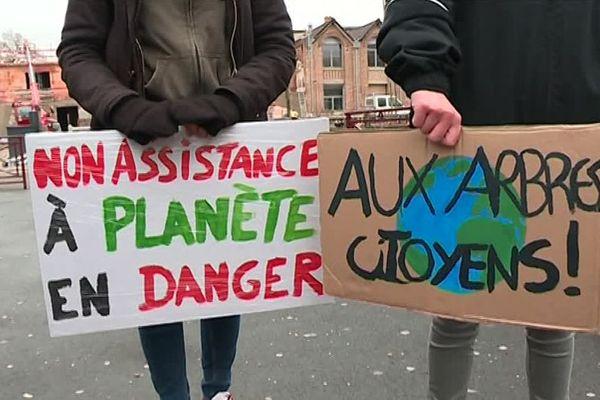 Grève mondiale du climat à Beauvais vendredi 15 mars 2019