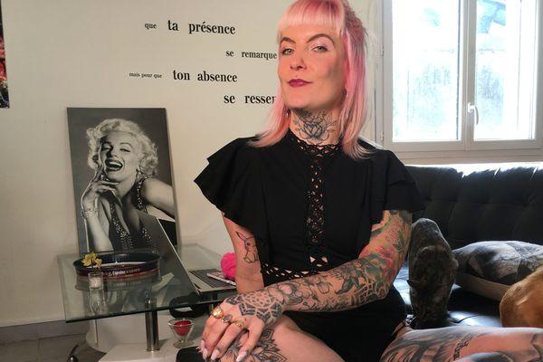 Charlène Henryn, Ink Girl Bretagne, habite à Merzer, dans les Côtes-d'Armor