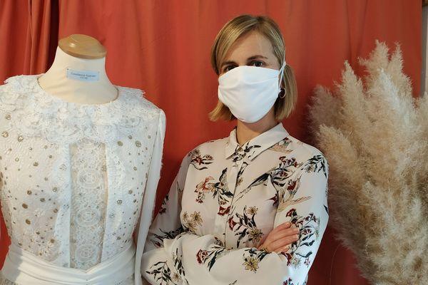 Haute-couture : de la confection de robes de prestige aux masques de protection contre le Covid-19