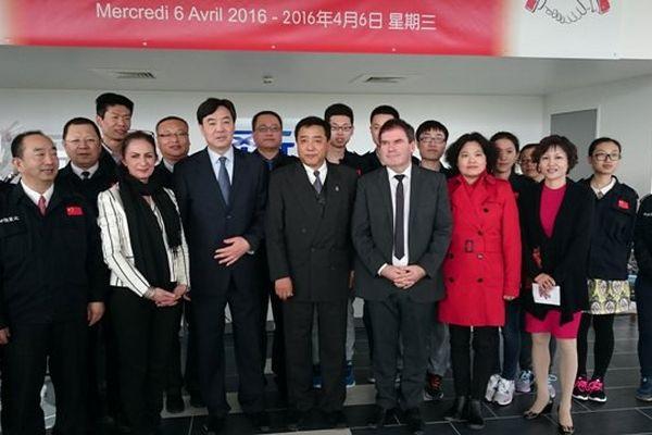 L'ambassadeur de Chine présent à Carhaix, lors de l'annonce de deux nouvelles usines chinoises
