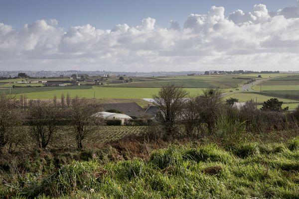 Paysage du Leon en Bretagne