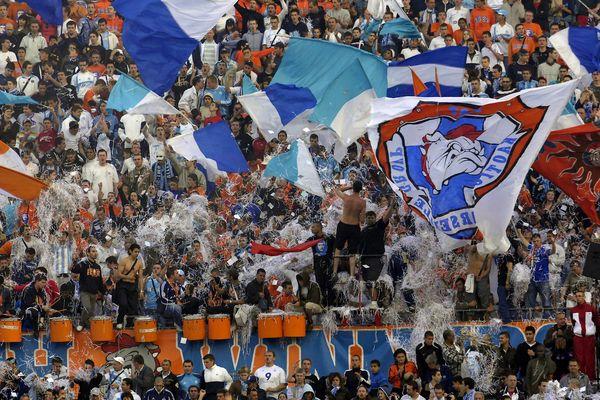 Les supporters South Winners au stade Vélodrome en 2007.