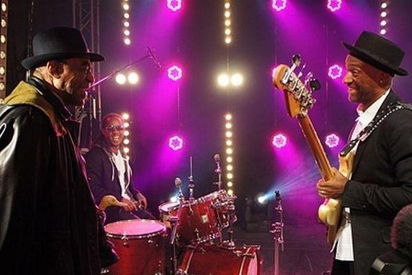 Archie Shepp et Marcus Miller réunis sur le plateau de France 3, lors du Festival Jazz sous les pommiers 2012