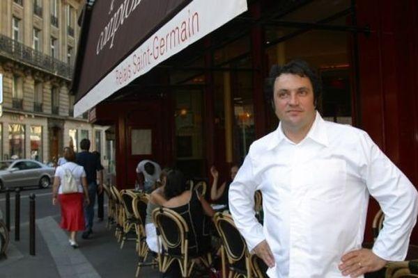 Le chef Yves Camdeborde