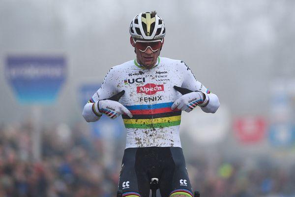 Mathieu Van Der Poel, vainqueur du GP de cyclocross Sven Nys le 1er janvier 2020, sera aligné au départ du Paris-Roubaix 2020.