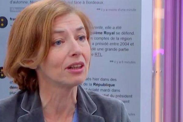 Florence Parly, ministre des Armées du gouvernement Philippe II.