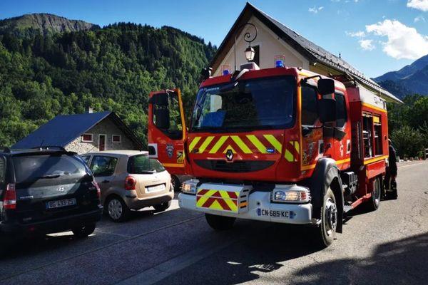 La circulation a été coupée sur la route où a eu lieu le drame.