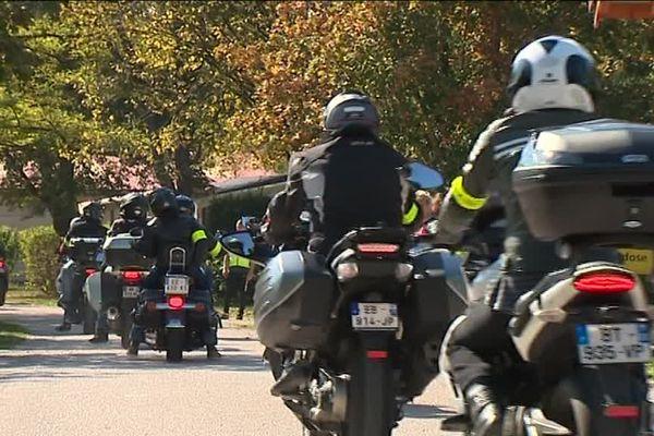 Dans le Jura, l'association Moto virade 39 organisait les virades de l'espoir, pour vaincre la recherche contre la mucoviscidose.