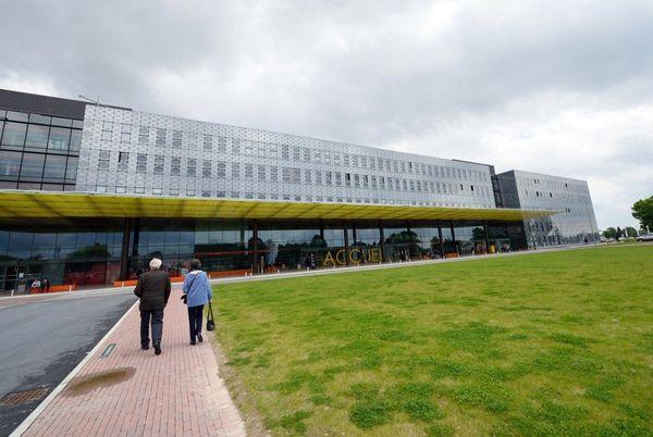 Le centre hospitalier de Douai photographié en 2013.