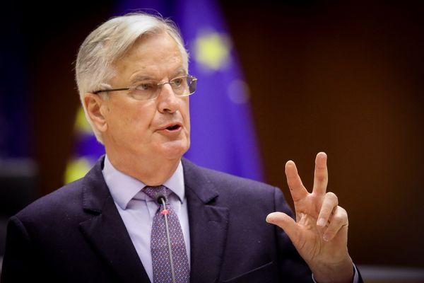 """Michel Barnier plaide en faveur de """"l'unité"""" de la droite avant l'élection présidentielle de 2022."""