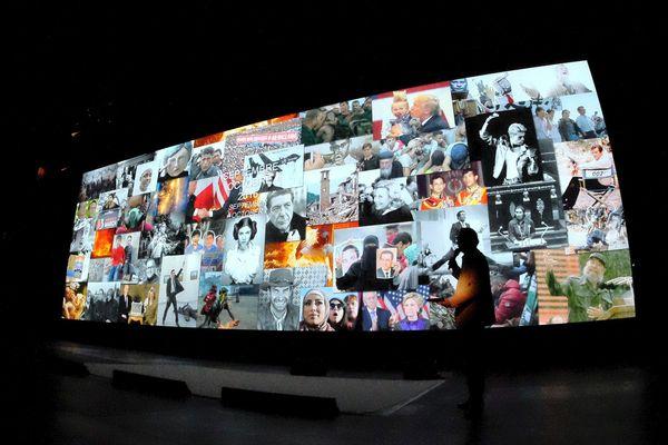 """Visa pour l'image, le festival international de photojournalisme de Perpignan, dans le sud de la France, fêtera sa 30e édition du 1er au 16 septembre avec une programmation fidèle à sa marque de fabrique: donner à voir """"ce qu'on n'a pas envie de voir"""". (image d'archive)"""