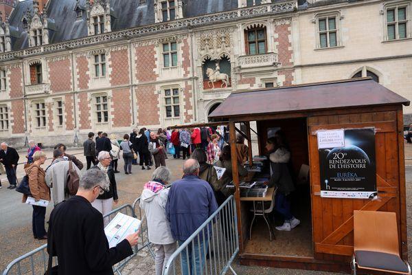 Les Rendez-vous de l'Histoire de Blois revendiquent chaque année plus de 40 000 visiteurs, comme ici en 2017. Photo d'illustration