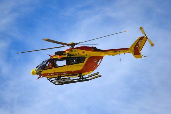 Un jeune homme de 24 ans a été secouru et héliporté vers le CHU de Clermont-Ferrand par Dragon 63 ce jeudi 8 avril un peu avant 14 heures.