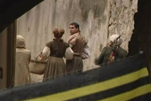 Gérone (Espagne) - tournage de la 6e saison de la série Game of Thrones - septembre 2015.