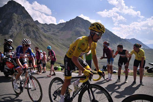 Julian Alaphilippe apprécie les routes des Pyrénées, sur lesquelles il avait brillé avec le maillot jaune du Tour de France 2019.