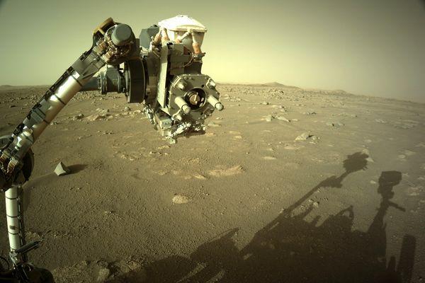 Persévérance sur Mars.