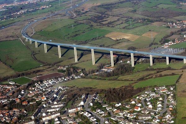 Le viaduc d'Echinghen en 2011. (Illustration)