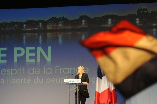 Meeting de Marine Le Pen à Marseille