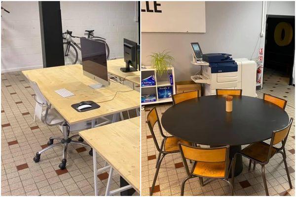 Huit bureaux sont mis à disposition dans cette agence d'architecture du Vieux-Lille.