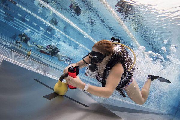 Epreuve d'émersion - Championnat de France de sports subaquatiques