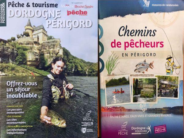 Un topo-guide et publication complète pour faire découvrir les possibilités offertes aux pêcheurs en Dordogne