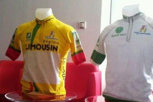 deux des maillots officiels du Tour du Limousin 2015