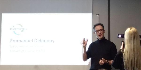 Emmanuel Delannoy, spécialiste en biodiversité pilotera le hub aux côtés d'une quinzaine d'autres scientifiques lors du salon Planète Biodiv.