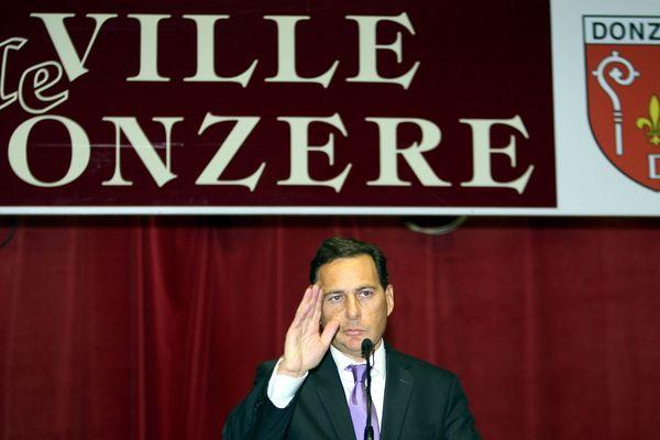 Eric Besson, maire de Donzere (Drôme) ne briguera pas de cinquième mandat en mars 2020 - (photo d'archives)
