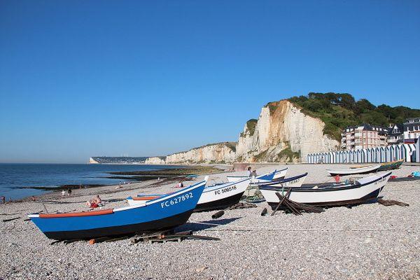 En Seine-Maritime, plein soleil sur la côte d'Albâtre et la plage d'Yport, ce MERCREDI.