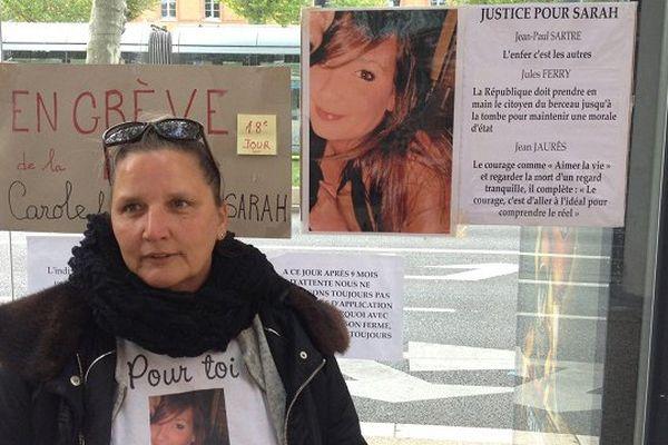 Carole Elicha-Giraud, la mère de Sarah Giraud décédée en 2008.