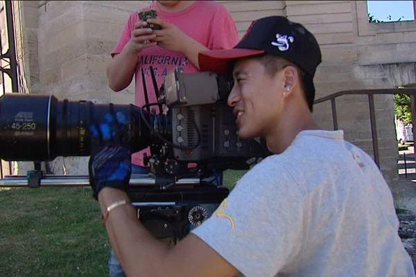Les Chinois tournent un film promotionnel sur la Picardie pour les touristes Chinois