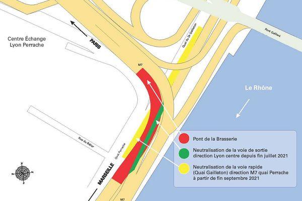 Des travaux de sécurisation du pont de la Brasserie vont entraîner des conséquences sur la circulation durant les travaux de sécurisation de l'ouvrage.