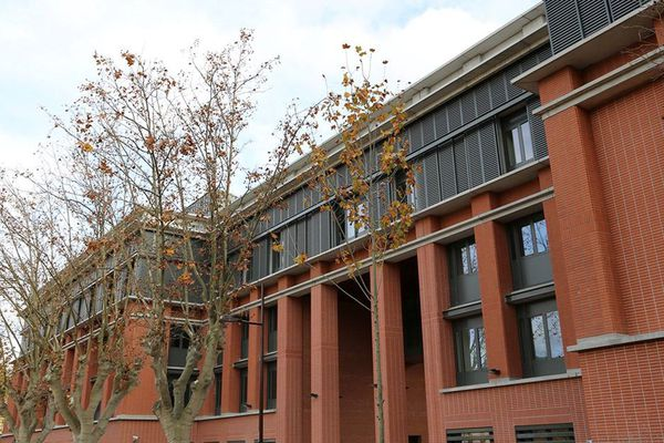 Une vue du nouveau rectorat de Toulouse