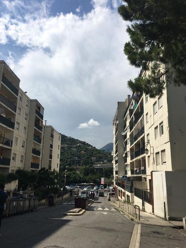 Le quartier des Liserons, à l'est de Nice.