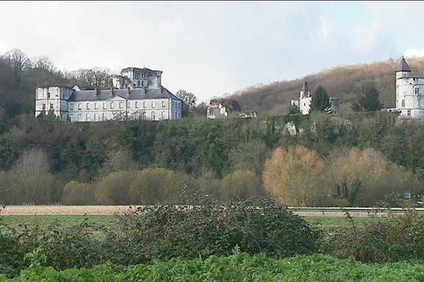Le château de Tancarville