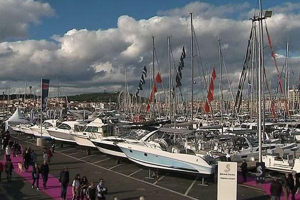 Agde (Hérault) - le salon nautique - 1er novembre 2018.