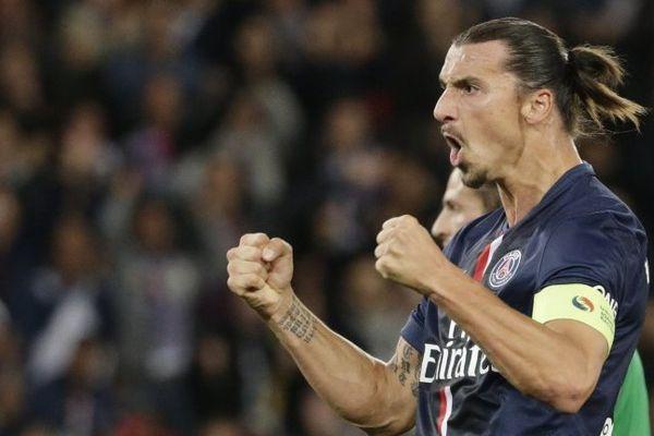 Zlatan a été étincelant, dimanche soir face aux Verts, inscrivant son 5e doublé depuis qu'il porte le maillot parisien.