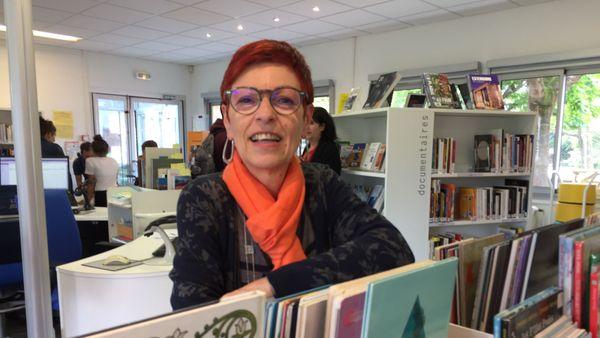 La bibliothécaire dijonnaise Laurence Lobrot-Thevenot