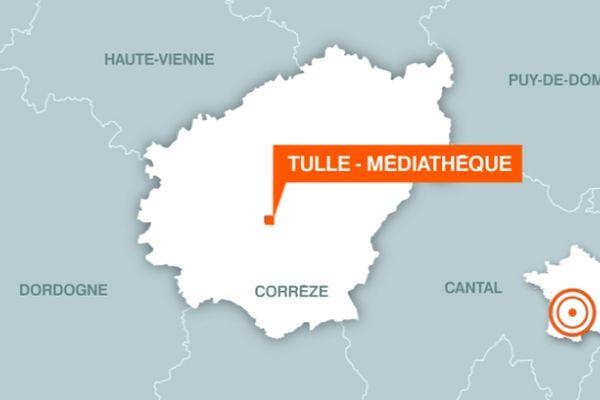 Un homme retrouvé mort près de la médiathèque de Tulle, mercredi 20 février