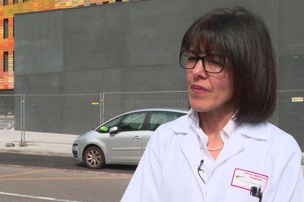 Samira Fafi Kremer, directrice de l'institut de virologie de Strasbourg