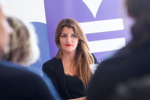 Marlène Schiappa à Paris, le 18 octobre 2019.